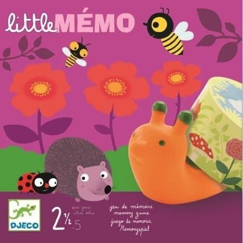 Djeco Memory-Spiel Little mémo für Kinder ab 2-5 Jahre