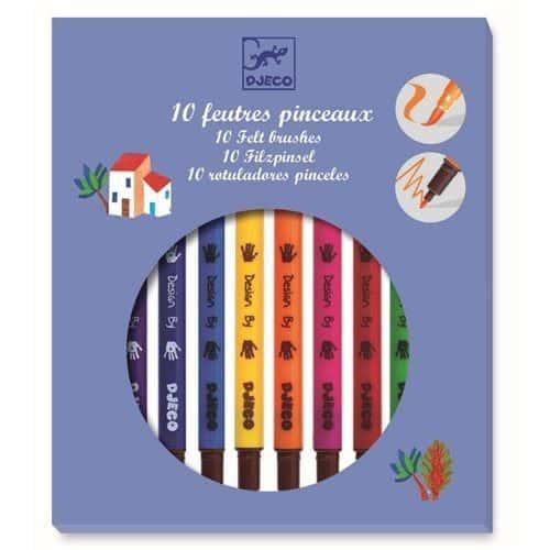 Djeco Filzstifte Classic 10 Farben