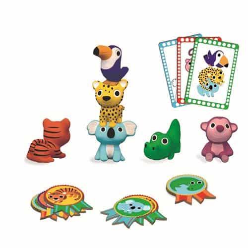 Janod Baby Forest Mini Puzzle 12 Pcs - (6 Designs)