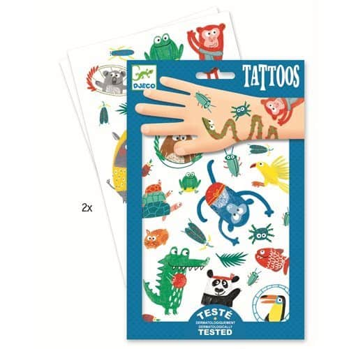 Djeco Tattoos Tiere