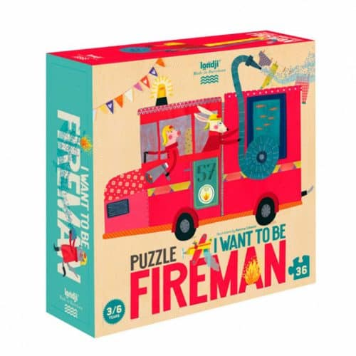 Londji Puzzle Feuerwehrmann