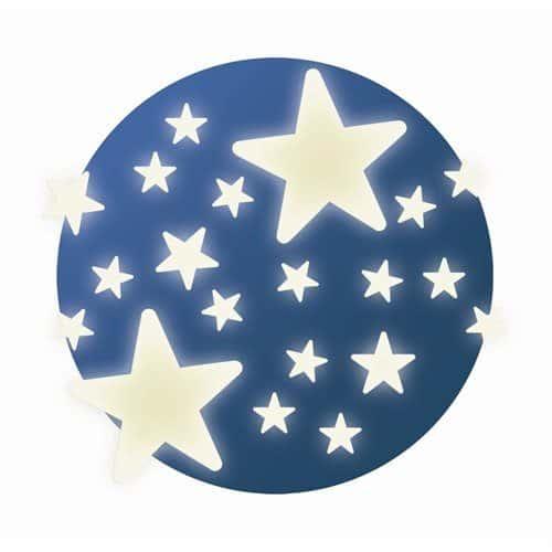 Djeco Wandsticker Stars leuchtend
