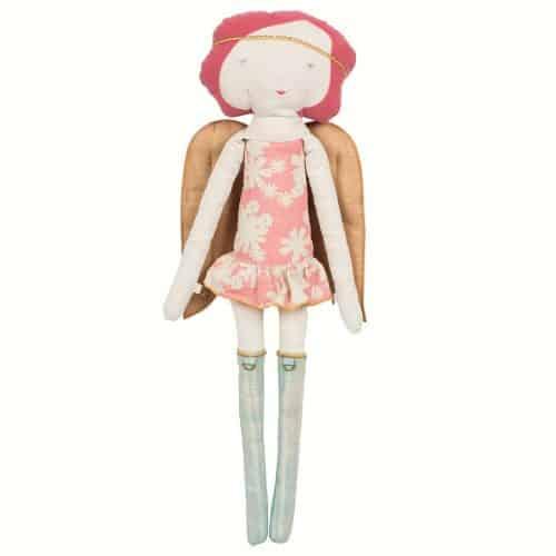 Maileg Adventskalender Schutzengel Puppe Rose mit Stirnband 66cm