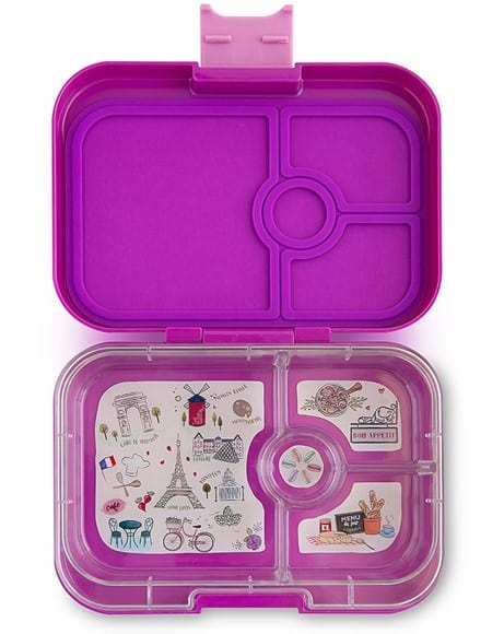 yumbox panino bento lunchbox mit 4 facher unterteilung in. Black Bedroom Furniture Sets. Home Design Ideas