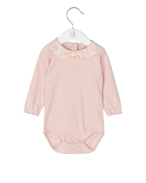 Noa Noa miniature Langarm-Baby Body in cameo rose