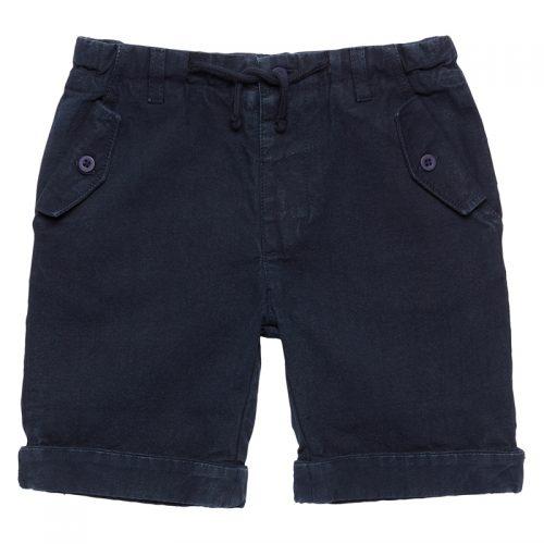 8b16f2153f67 Sense Organics Lässige Jungen Twill Shorts, navy, Ulli