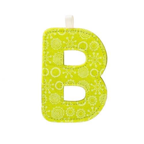 Lilliputiens Stoff-Buchstabe B
