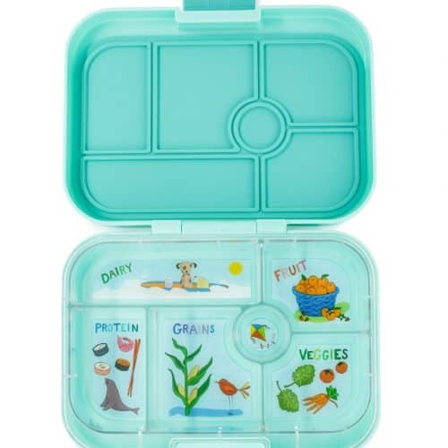 Yumbox Original Bento Lunchbox surf green