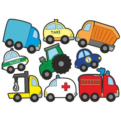 Jabalou Sticker Fahrzeuge