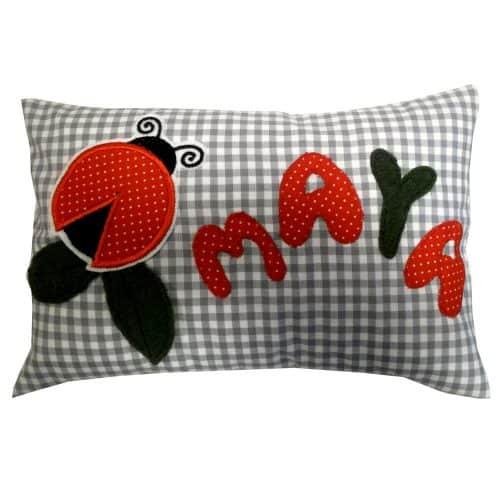 Tante Frida Kissen Ladybug Maya