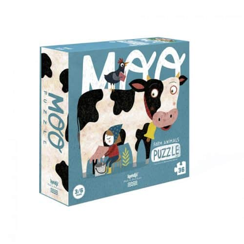 Londji Puzzle MOO - Bauernhoftiere