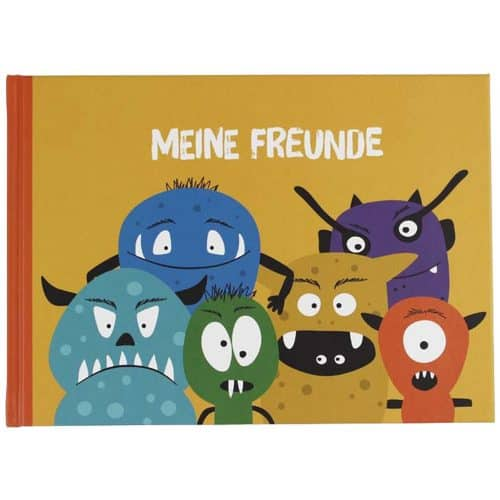 Monster-Freundebuch von ava & yves