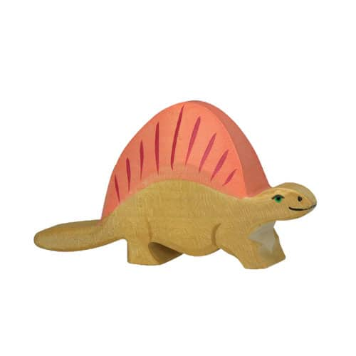 Holztiger Dinosaurier - Dimetrodon