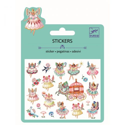 Djeco Mini Sticker Fairies and tiny wings