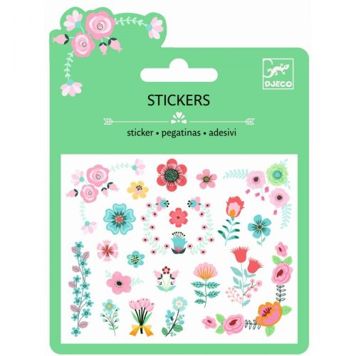 Djeco Mini Sticker Small Flowers
