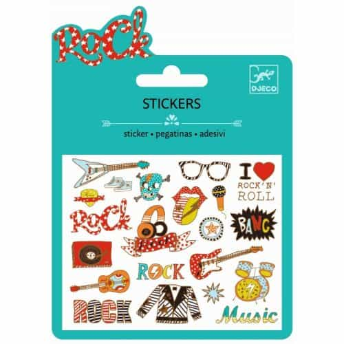 Djeco Mini Sticker Pop and rock