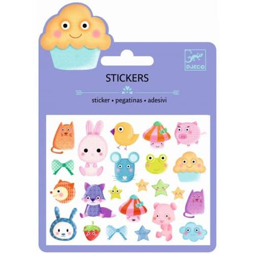 Djeco Mini Sticker Kawaii