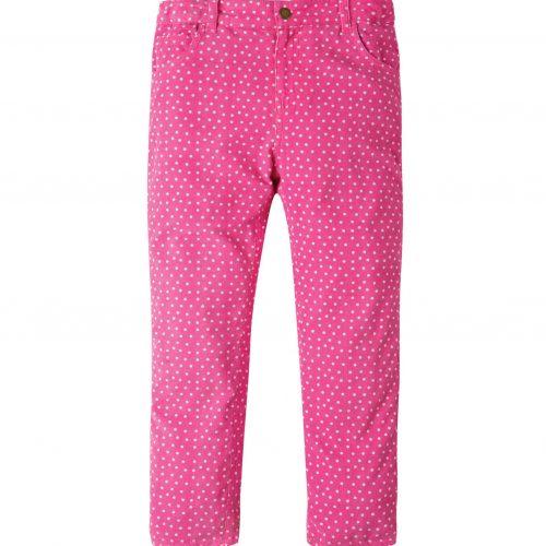 Frugi Cordhose in pink mit Punkten