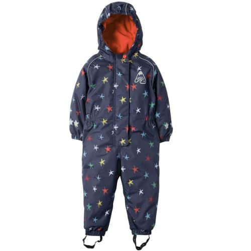 Frugi Explorer All in One Anzug NORTHERN STARS
