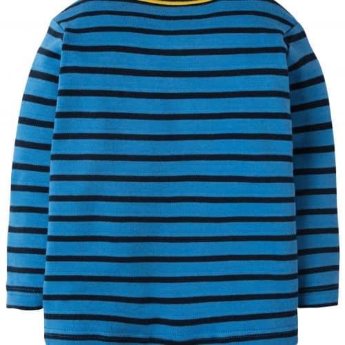 Frugi Langarm-Shirt Walross in blau gestreift