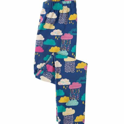 Frugi Libby Leggings Regenwolken in bunt