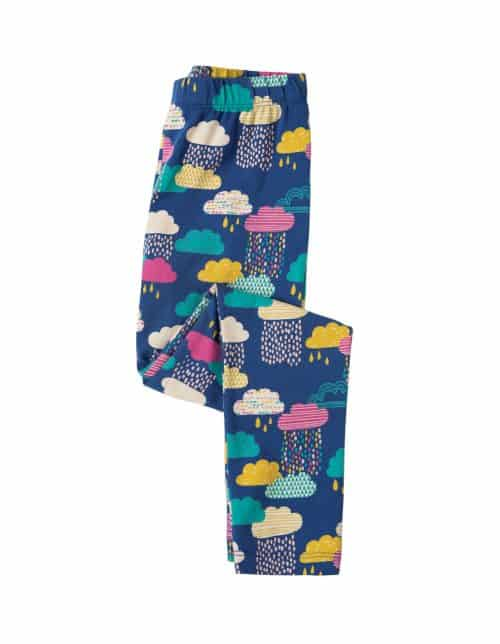 Frugi Libby Leggings Regenwolken in bunt