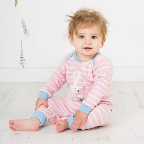 Frugi Baby-Strampler Hase