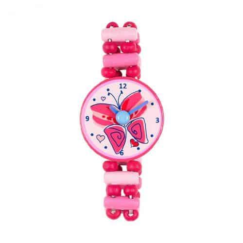 Souza! Armbanduhr aus Holz Schmetterling