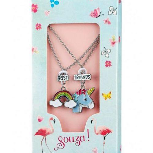 Souza! 2er Set Halsketten Unicorn Best Friends für Kinder ab 4 Jahren