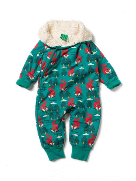 Little Green Radicals Winteroverall Kleiner Fuchs