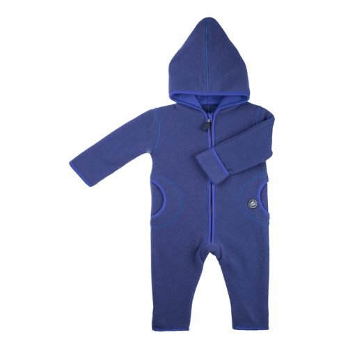 pure-pure by Bauer Wollfleece Overall in dunkelblau