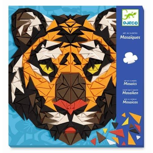 Djeco: Kunst nach Zahlen - Khan Mosaik stickern