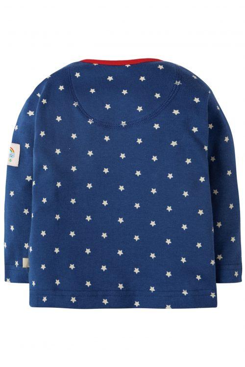 Frugi Langarm-Shirt Wichtel in blau