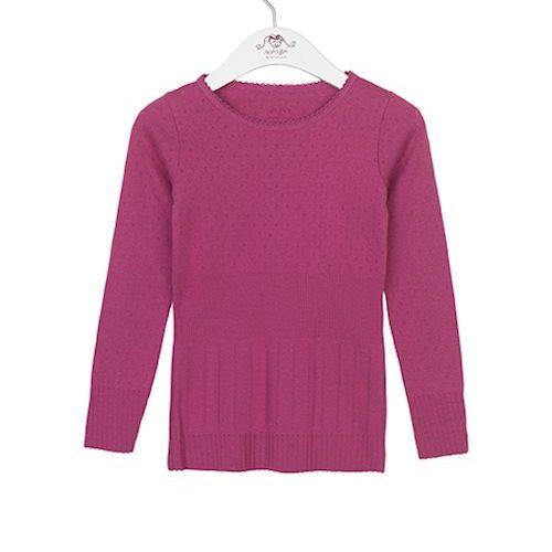 Noa Noa Miniature Langarm-Shirt DORIA in pink