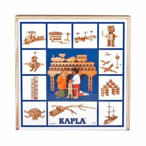 Kapla® Starterbox mit 100 Holzplättchen in natur