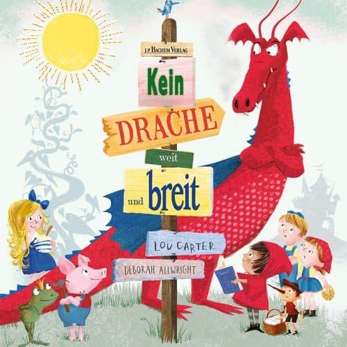Kinderbuch Kein Drache weit und breit