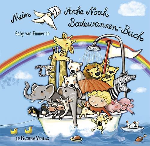 Kinderbuch Mein 1. Arche Noah Badewannen-Buch