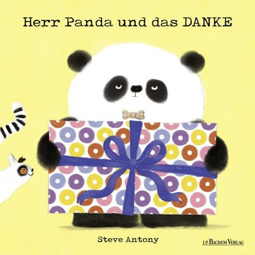 Kinderbuch Herr Panda und das DANKE