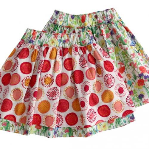 Enfant Terrible Wenderock Blumenwiese und Kreise in white-strawberry