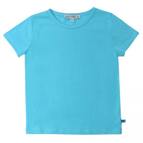 Enfant Terrible Kurzarm-Shirt in aqua