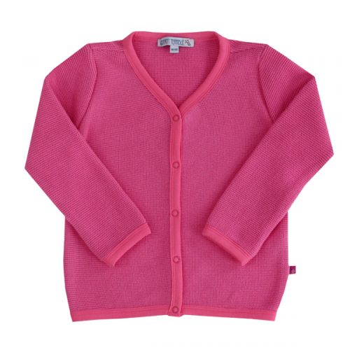 Enfant Terrible Strickjacke im Trachtenstil in pink