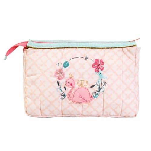 Kulturtasche Flamingo