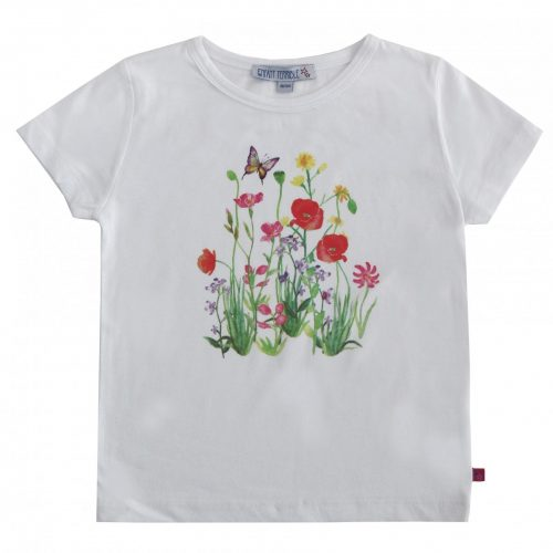 Enfant Terrible Kurzarm-Shirt mit Blumendruck