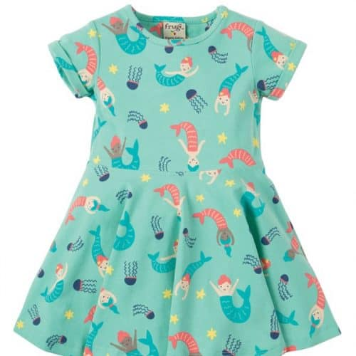 Frugi Kleid Kleine Meerjungfrauen