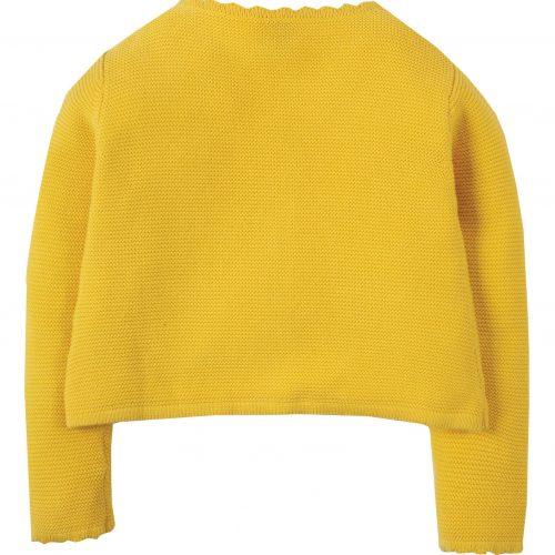 Frugi Strickjacke Milly Swing in gelb
