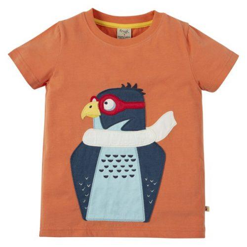 Frugi Kurzarm-Shirt Falke