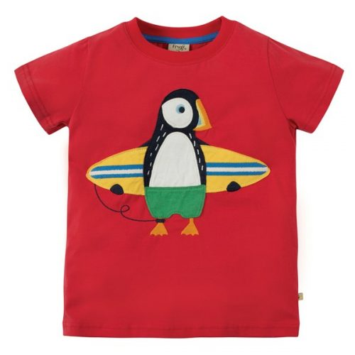 Kurzarm-Shirt Papageientaucher