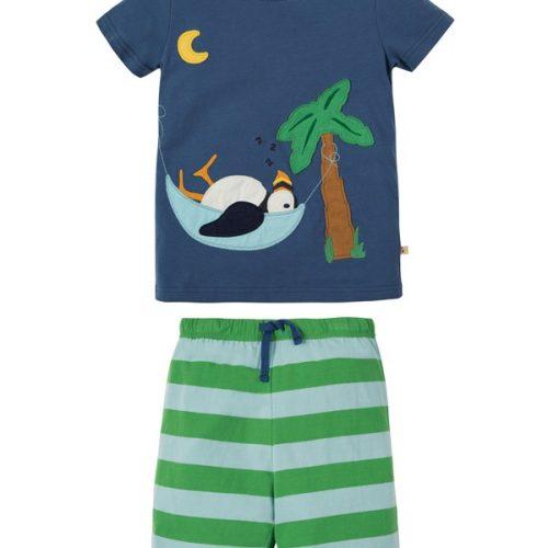 Frugi Schlafanzug Papageientaucher