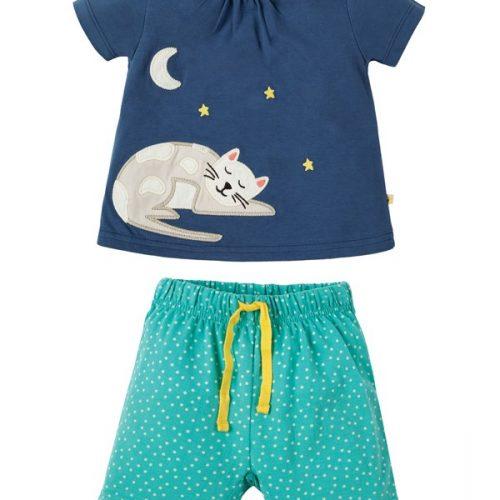 Frugi Schlafanzug Katze