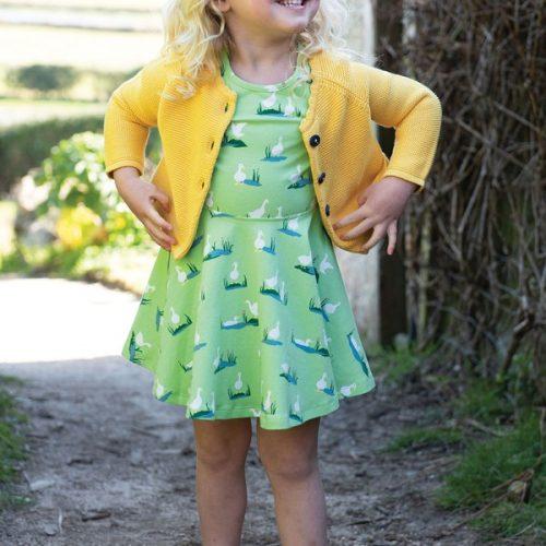 Frugi Strickjacke Carrie in gelb